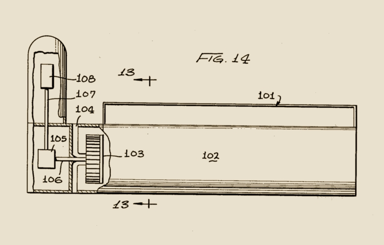 Drawing, Figure 14 From The Patent