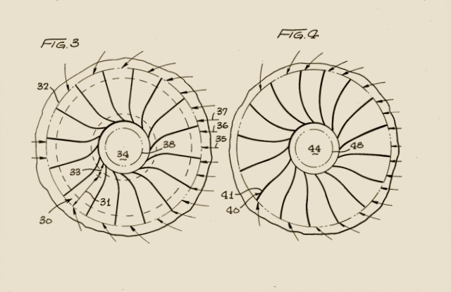 Drawing, Figures # & 4 From The Patent