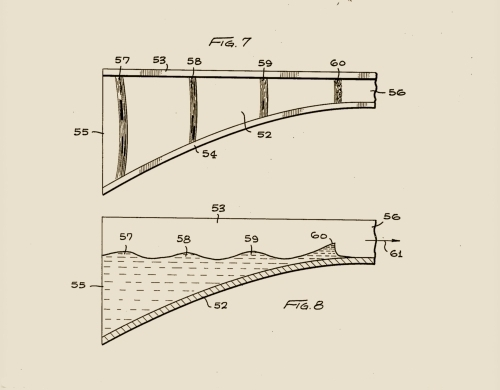 Drawing, Figures 7 & 8 From The Patent